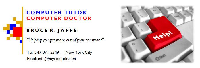Computer Tutor/Computer Doctor